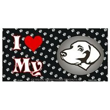 USA Novelty Number Plate - German Short Haired Pointer - I Love My  Sign Decor