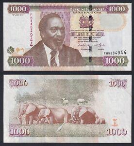 Kenya 1000 shillings 2010 SPL/XF  C-09