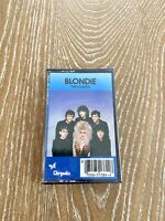 Blondie The Hunter Cassette Tape Vintage Chrysalis Records New Sealed