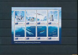 LO44638 Cook Islands Rarotonga penguins animals birds good sheet MNH