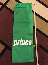 Prince Pro Exo3 Rebel Green fabric Drawstring racquet/racket bag only (NEW)