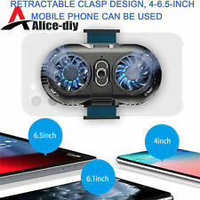 Cooling Fan Mobile Phone Radiator Game Cooler For iPhone Samsung B2AD