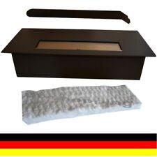 3 litros de etanol ajustable quemador con lana de cerámica Negro para Chimenea
