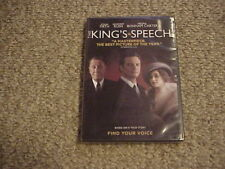 The Kings Speech (DVD, 2011) / New! / Sealed! / Free First Class Shipping!