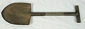 Original WWII 1943 U.S. Army T-Handle Entrenching Tool Shovel