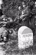 WW2 - Poste de secours de l'Armée allemande dans le Centre-Manche le 15.07.1944
