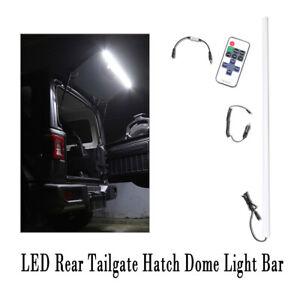 LED Rear Tailgate Glass Gate Hatch Dome Light Bar For 2018-2020 Jeep Wrangler JL