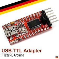 USB-TTL Serial Modul FT232RL FTDI 3,3V und 5V ISP USB Arduino Pro Mini Adapter