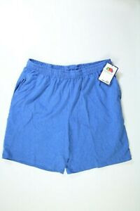 Men's Fruit Of The Loom Blue Knit Lounge Shorts Large NEW! NWT