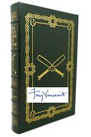 Fay Vincent THE ONLY GAME IN TOWN Signed Easton Press 1st Edition 1st Printing