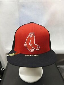 NWS Boston Red Sox New Era 59fifty Timeline Collection 7 1/8 MLB