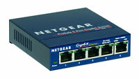NETGEAR ProSafe GS105 5-port Gigabit Desktop Switch 10/100/1000 Mbps - switch -