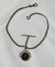 Watch Chain Fob - From 1800's Antique Victorian Roman Soldier Pendant Pocket
