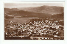 Ballater From Craigcoillach Aberdeen 1929 Real Photograph Valentines 206327