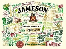 Jameson, Retro Vintage Metal Sign, Bar/Pub, Kitchen, Alcohol, Irish Whiskey