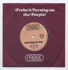 "THREE DOG NIGHT - Never Been To Spain / Peace Of Mind (Australian 7"" in Co slv)"