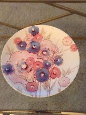 Noritake Craftone Medley 8771 5 Large Serving Platter or Cake Plate flowers !!!