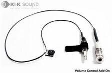 K&k Boca rueda Control De Volumen Para Guitarra Acústica Pastillas Libre Post