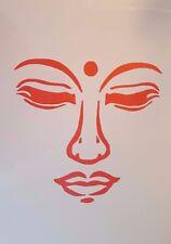 Schablonen Gesicht Vintage Stanzschablonen Shabby Wandbild Stencil Mylarfolie