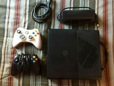 Microsoft Xbox 360 E Console 250 GB Cleaned/Tested - Black  *Ready to Ship out*