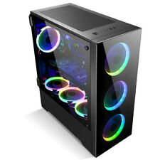 Z21 PC Case Gaming Computer Case EATX/ATX/MATX/ITX Mid Tower Case, Side Panel