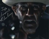 R. LEE ERMEY SIGNED AUTOGRAPHED TEXAS CHAINSAW MASSACRE PHOTO TO JEFF