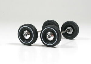 Opel Rekord C Stahlfelgen Reifen mit Weißwandring Umbau Zubehör Tuning 1/18