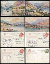 Raphael Tuck & Sons Single Collectable Scottish Postcards