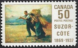 Canada  # 492   SUZOR - COTE  New Issue 1969 Original Gum  02
