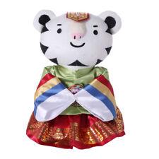 Winter Olympics 2018 Pyeongchang Korea Soohorang Mascot Hanbok Doll Limited New