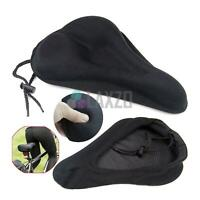 Bike Seat Cover Saddle Bicycle Extra Comfort Padding Soft Gel Cushion