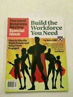K)  New Harvard Business Review Build Workforce You Need Business Magazine