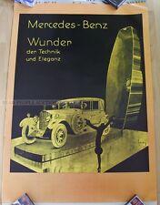 german mercedes benz poster 1970 - art print car