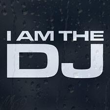 I Am DJ Car Decal Vinyl Sticker For Bumper Panel Window