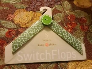 Lindsay Phillips Switchflops Straps Lime Green Size Small