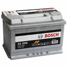 BOSCH S5 008 Heavy Duty Calcium Battery S5008 / E44 / 096 Type 77ah