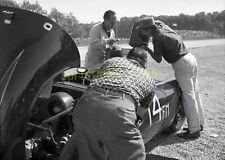 Jack Manting #14 Porsche 550 - 1959 Road America Elkhart - Vtg Race Negative