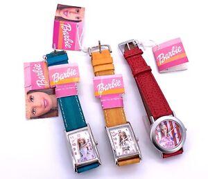 New Lot Barbie Montre Cal. Isa K63 Quartz Vintage Original Montre Enfants