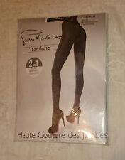 Pierre Mantoux Reversible Calzas collant Strumpfhose Sandrine en chocolate/cioc