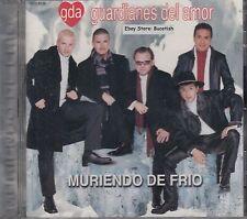Guardianes Del Amor Muriendo De Frio CD New Nuevo Sealed