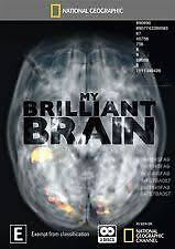MY BRILLIANT BRAIN- NATIONAL GEOGRAPHIC  (DVD, 2 DISC BOX SET) R-4, LIKE NEW