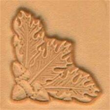 Oakleaf Corner 3d Leather Stamping Tool - Craf Stamp Oak Leaf 853600