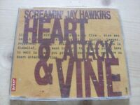 Screamin' Jay Hawkins:  Heart Attack & Vine    CD Single     NM