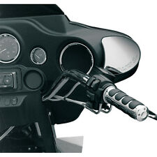 Chrome Front Speaker Grills Speaker Bezels for Harley