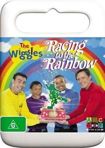 The Wiggles Racing to the Rainbow - DVD KIDS SHOE TODDLER EDU PRESCHOOLER
