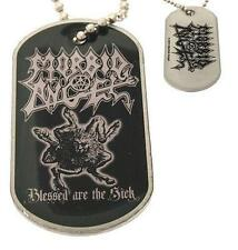 "Morbid Angel Dog Tag ""Blessed Are The Sick"" - NECKLACE-CANI marchio-COLLANA"