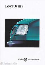 Lancia Delta HPE folleto 4/95 car brochure 1995 auto folleto auto folleto