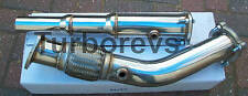 VW GOLF MK4 GTI 1.8T 20V TURBO SPORTS STAINLESS STEEL DECAT DOWNPIPE