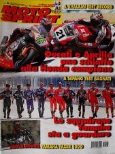 Motosprint 6 2001 Ultimo inserto Joe Bar Team. Ducati, Aprilia schiaffo Honda
