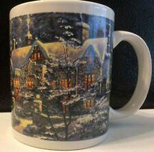 Christmas Thomas Kinkade Holiday at Spring Gate 2008 Coffee Mug